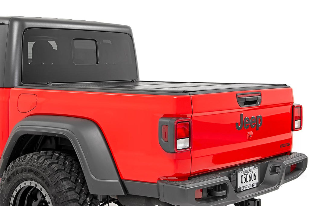 Jeep Low Profile Hard Tri-Fold Tonneau Cover (2020 Gladiator | 5' Bed)