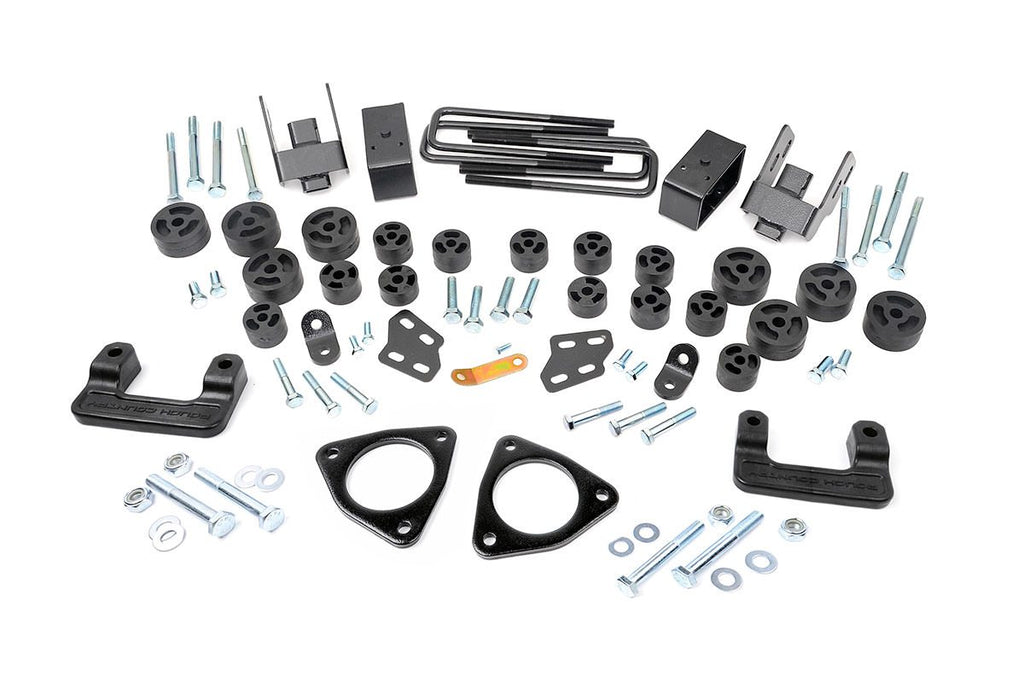 07-13 Silverado 1500 / 07-13 GMC Sierra 1500  3.75-inch Suspension & Body Lift Combo Kit