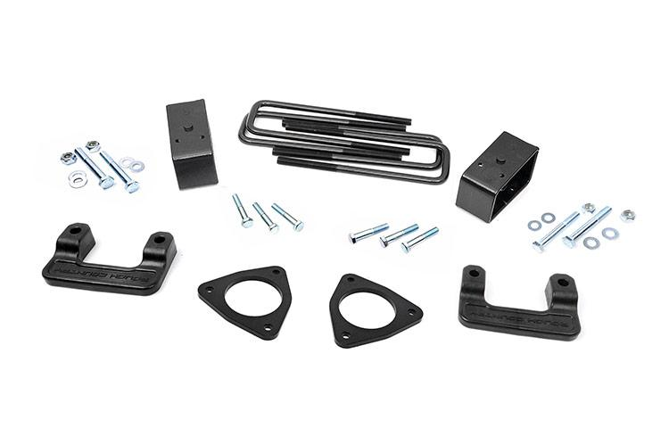 2007-2018 Silverado 1500 / GMC Sierra 1500  2.5-inch Suspension Leveling Lift Kit (Factory Cast Steel Control Arm Models)