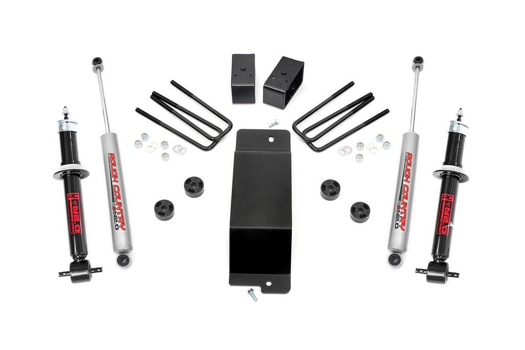 2014-2016 Silverado / Sierra 1500 4WD 3.5-inch Suspension Lift Kit (Factory Cast Steel Control Arm Models)