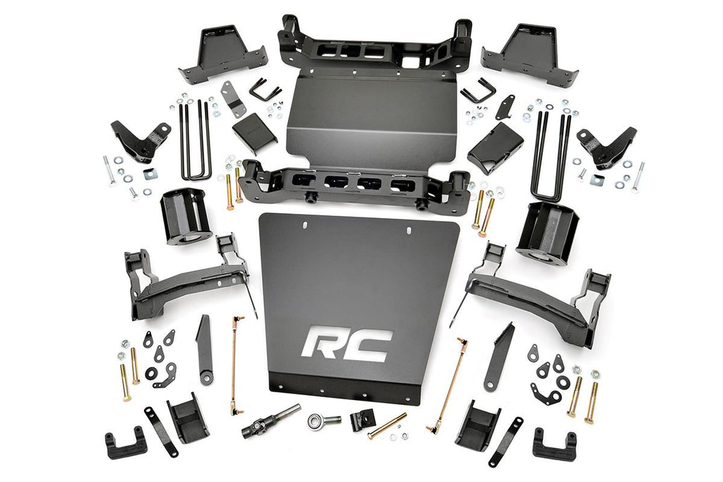 2014-2017 GMC Sierra 1500 Denali 4WD 7-inch Denali Magneride Suspension Lift Kit