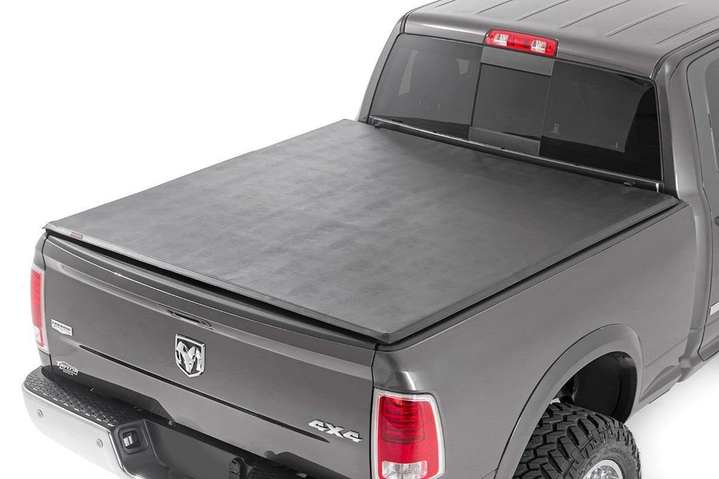 "Dodge Soft Tri-Fold Bed Cover (19-20 Ram 1500 - 6' 4"" Bed)"