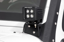 Load image into Gallery viewer, 2007-2017 Jeep Wrangler JK 4WD Lower Windshield LED Light Mounts