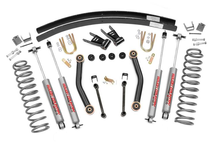 1984-2001 Jeep Cherokee XJ 4WD 4.5-inch Suspension Lift Kit
