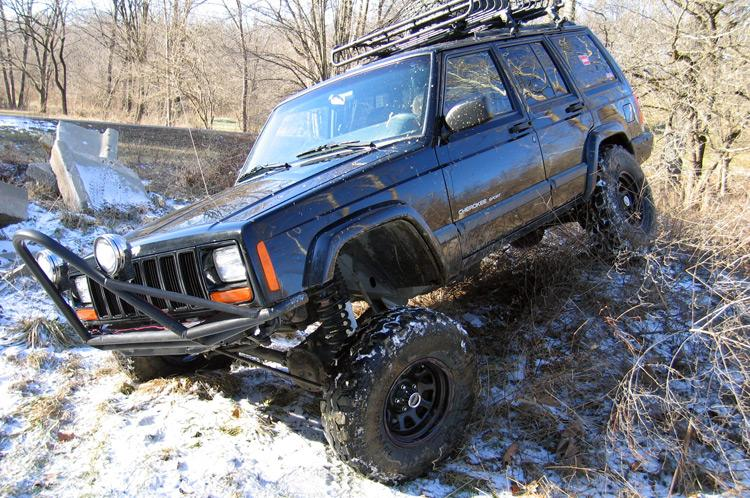 84-01 Jeep Cherokee XJ 4WD 4.5-inch X-Series Suspension Lift System