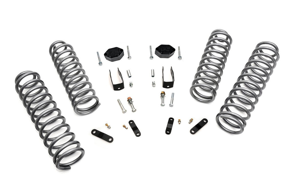07-17 Jeep Wrangler Unlimited JK  2.5-inch Suspension Lift System
