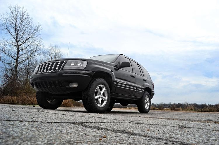 1999-2004 Jeep Grand Cherokee WJ 4WD 2-inch Suspension Lift Kit