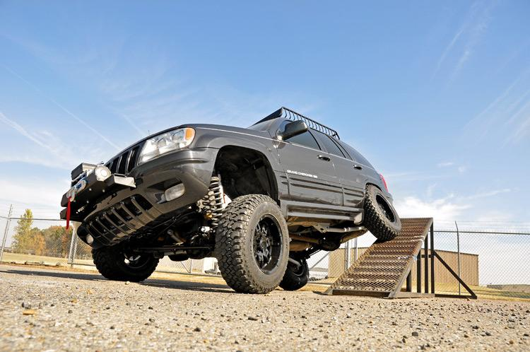 99-04 Jeep Grand Cherokee WJ 4WD 4-inch X-Series Long Arm Suspension Lift System