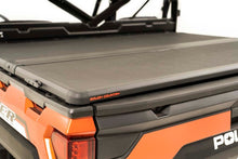 Load image into Gallery viewer, Polaris Hard Folding Bed Cover w/Tailgate Lock (18-20 Ranger 1000XP)
