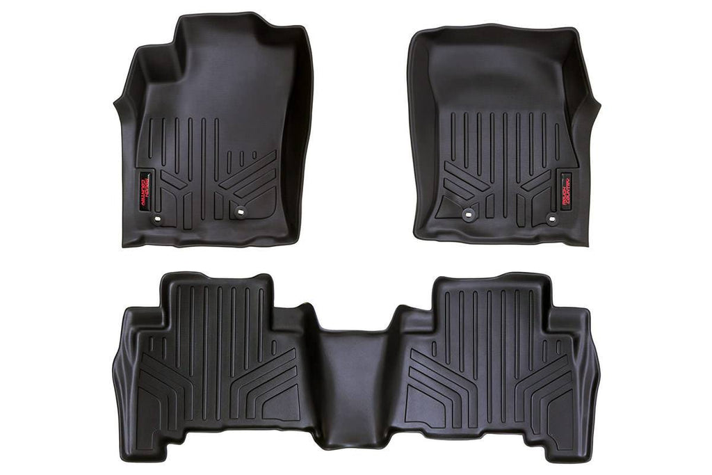 13-14 Toyota 4Runner  Heavy Duty Floor Mats - Front & Rear Combo