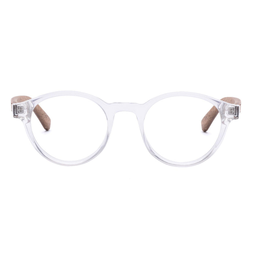 Acetate & Wood Optical Glasses | Woodz Nino Cristal