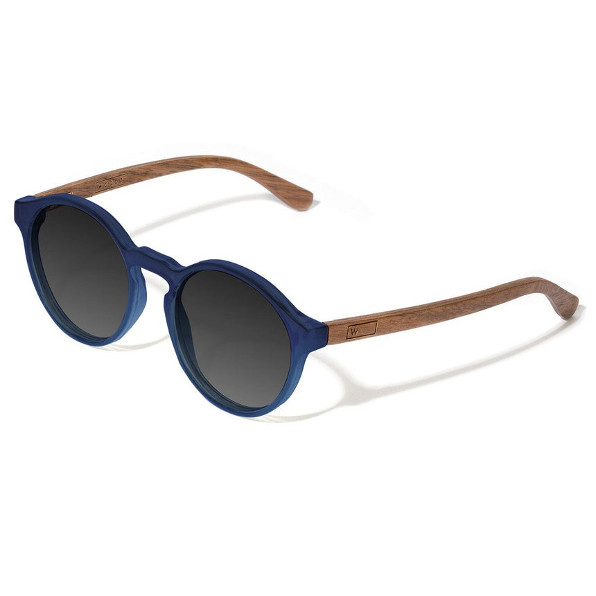 Acetate & Wood Sunglasses | Woodz Elli Blue