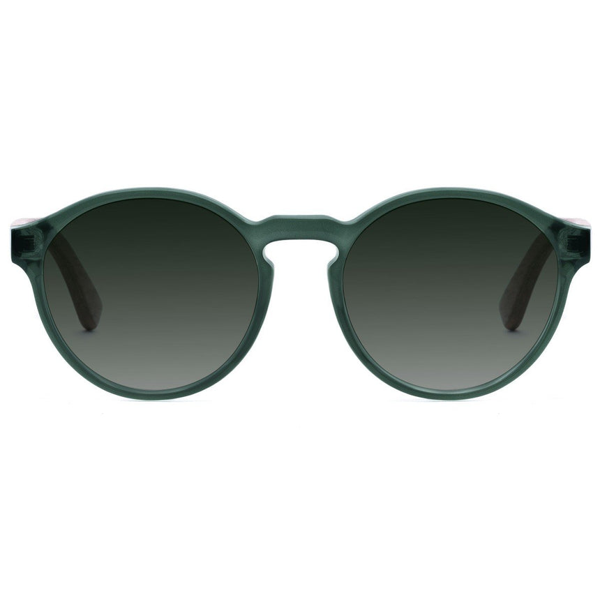 Acetate & Wood Sunglasses | Woodz Elli Green
