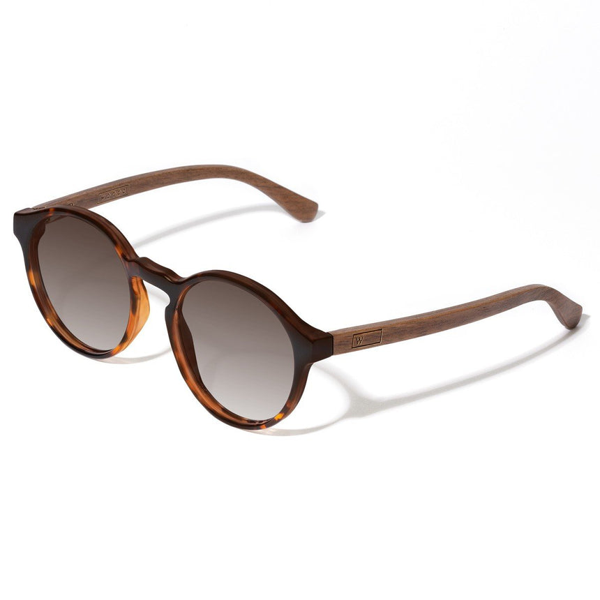 Acetate & Wood Sunglasses | Woodz Elli Tortoise