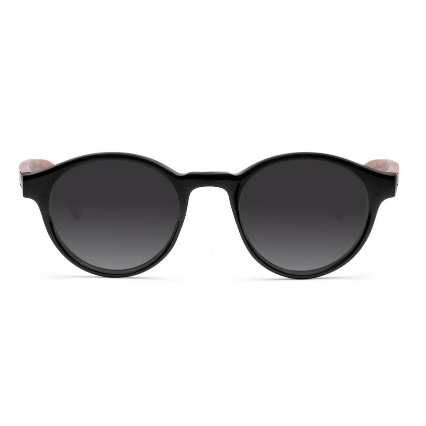 Acetate & Wood Sunglasses | Woodz Nino Black