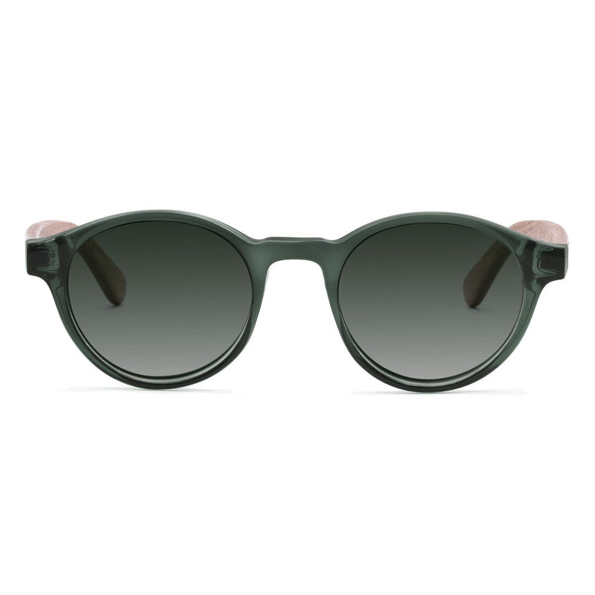 Acetate & Wood Sunglasses | Woodz Nino Green