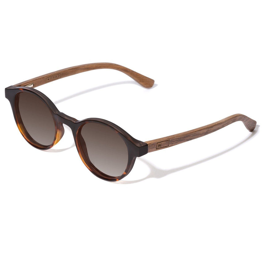 Acetate & Wood Sunglasses | Woodz Nino Tortoise