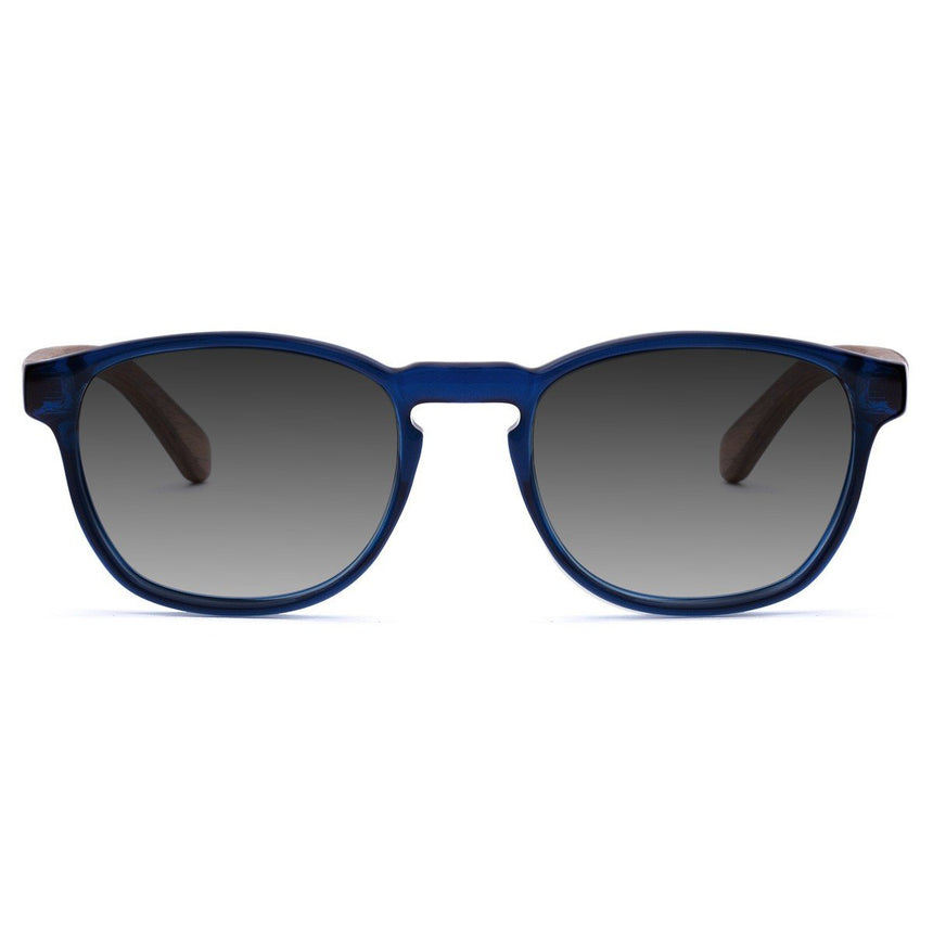Acetate & Wood Sunglasses | Woodz Olli Blue