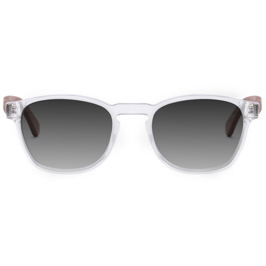 Acetate & Wood Sunglasses | Woodz Olli Cristal