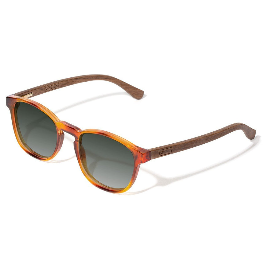 Acetate & Wood Sunglasses | Woodz Olli Havana