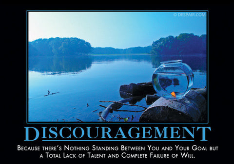 Discouragement-Fish