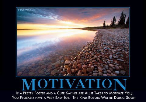 fake posters motivational