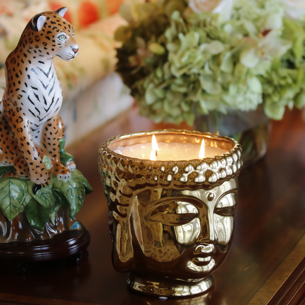 silver-ceramic-buddha-head-candle-with-3-wicks