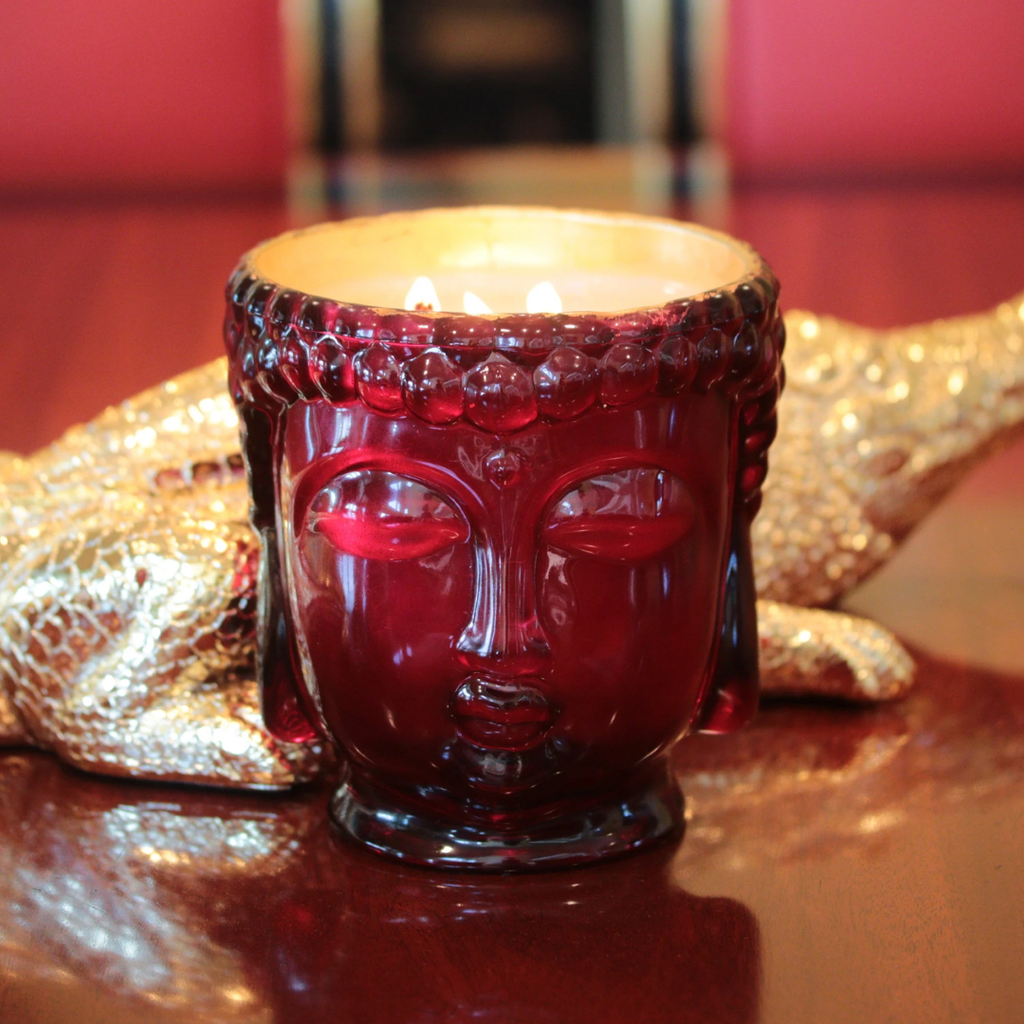 red-buddha-head-candle-with-gold-inside-and-3-cotton-wicks