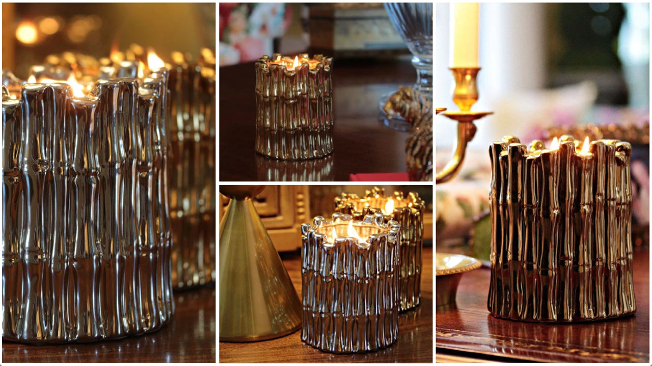 gold-and-silver-bamboo-designed-ceramic-candles