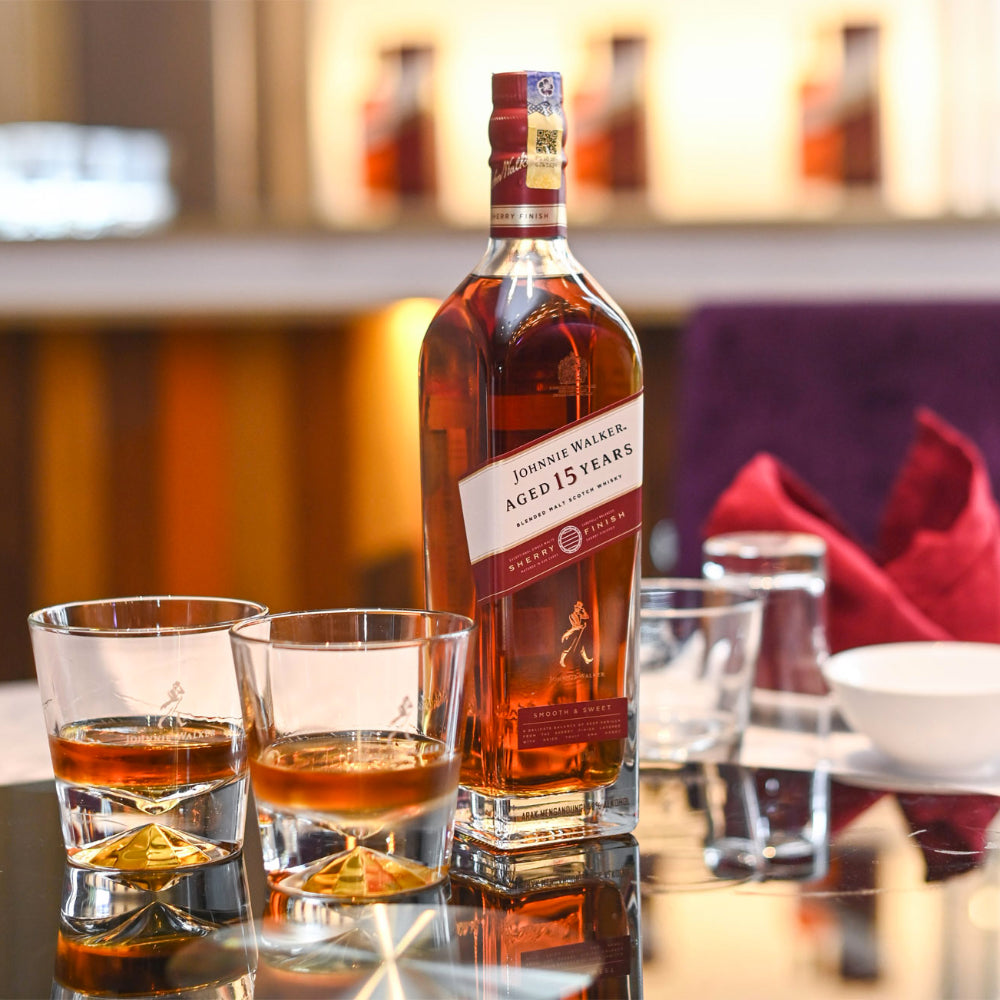 Johnnie Walker 15 Year Old Sherry Finish