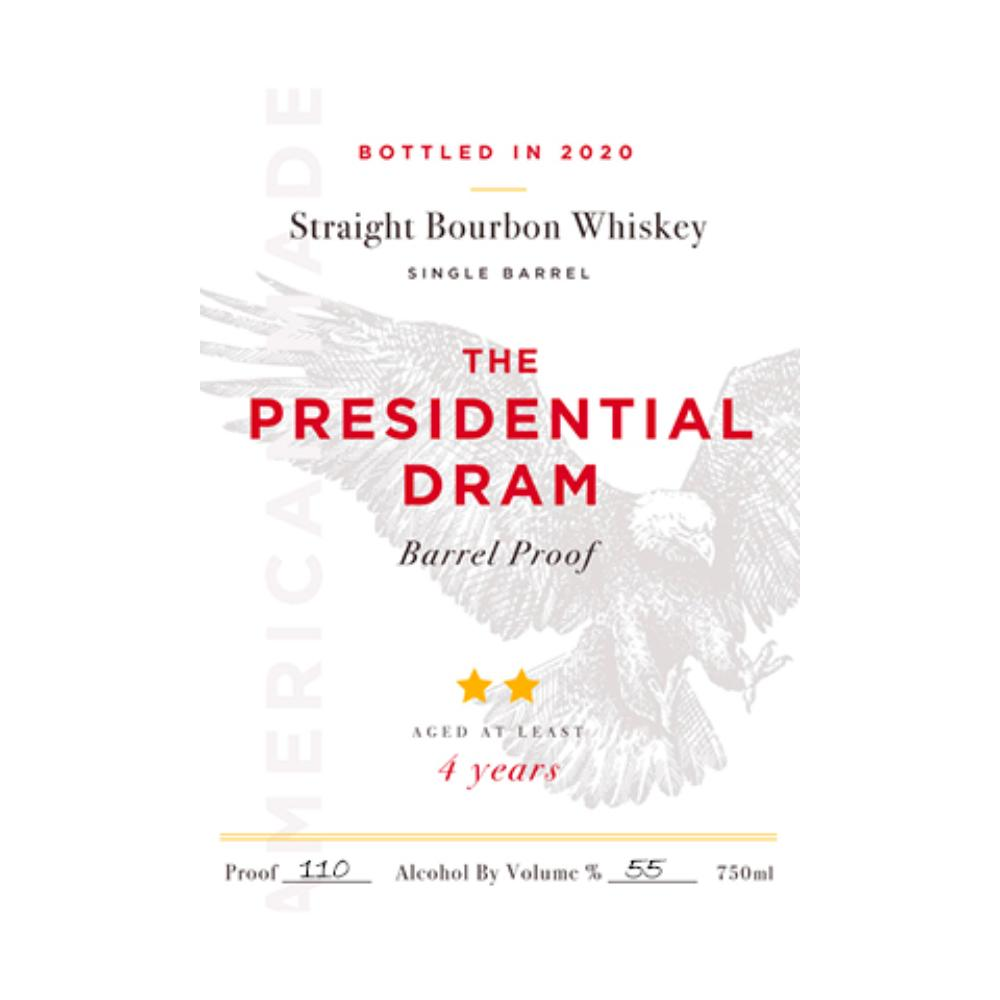 The Presidential Dram Barrel Proof 2020 Release
