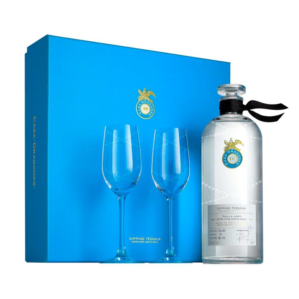 Buy Tequila Casa Dragones Joven Gift Set online from the best online liquor store in the USA.
