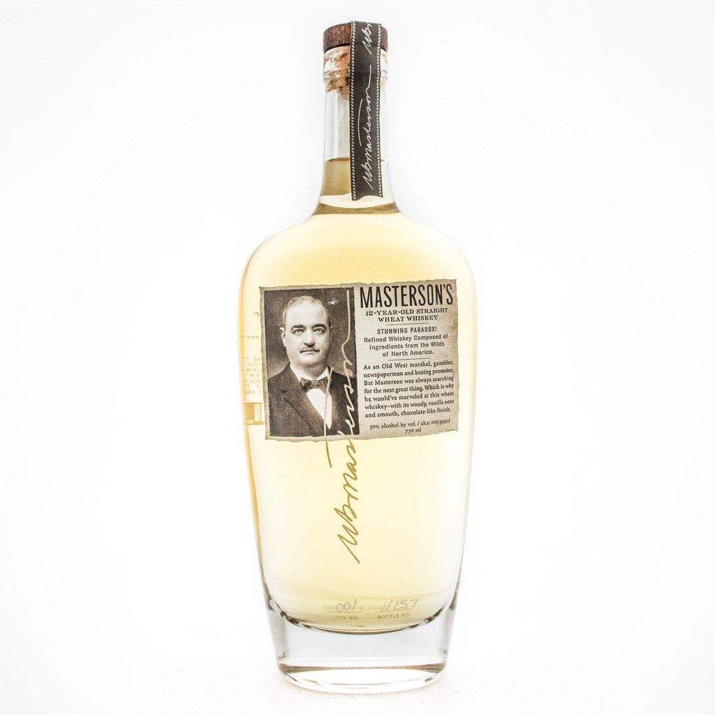 Masterson's Wheat Whiskey Wheat Whiskey Masterson's