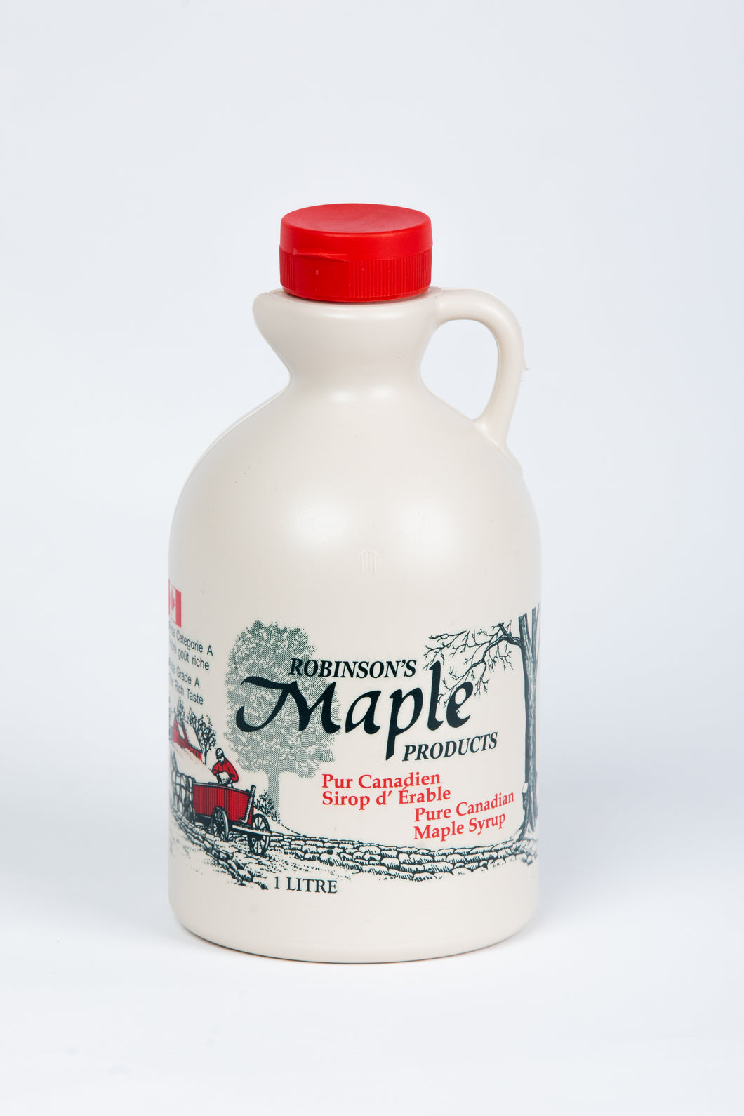 1 Litre Plastic Maple Syrup