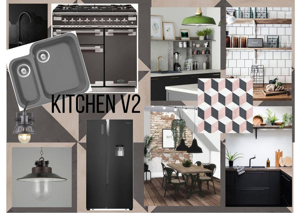Kitchen Interior Design Moodboard