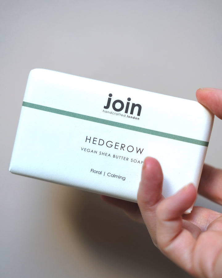 Join Hedgerow Shea Butter Soap Bar at Albert & Moo
