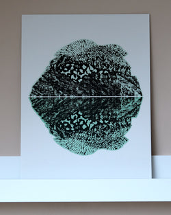 Reflect A3 Riso Print by Studio Wald at Albert & Moo