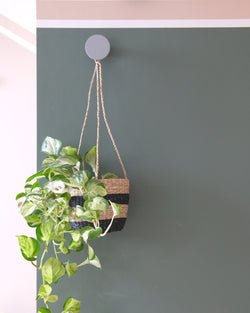 Seagrass Hanging Plant Pot at Albert & Moo