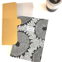 Sunflower Notebook with Folder