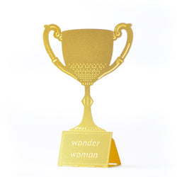 Wonder Woman Tiny Trophy