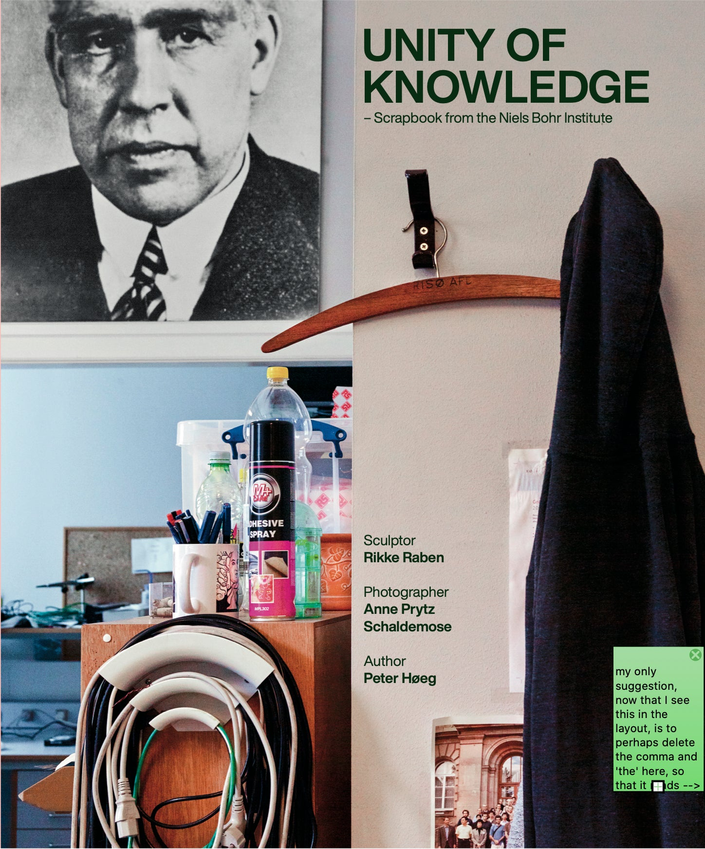 Unity of Knowledge – Scrapbook from the Niels Bohr Institute