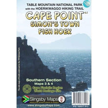 Load image into Gallery viewer, CAPE POINT - SIMONS TOWN -FISH HOEK  Map - Hikersparadisesa