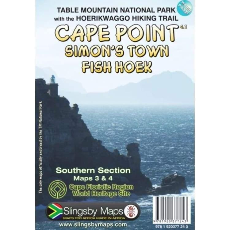 CAPE POINT - SIMONS TOWN -FISH HOEK  Map - Hikersparadisesa