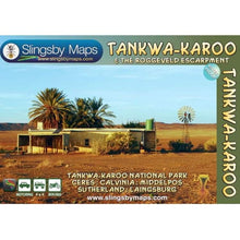 Load image into Gallery viewer, TANKWA-KAROO Map Slingsby - Hikersparadisesa