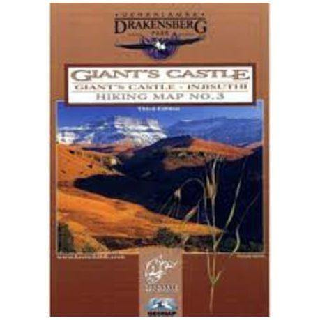 Drakensberg  Map 3: Giant's Castle - Hikersparadisesa