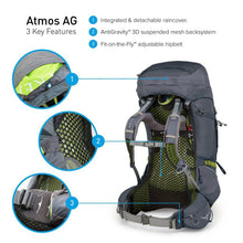 Load image into Gallery viewer, Backpack Osprey Atmos AG 65- Large - Hikersparadisesa