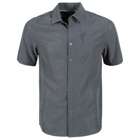 First Ascent Coolstretch Short Sleeve Shirt Man