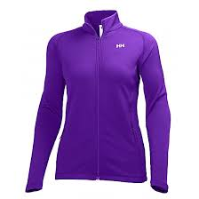 Helly Hansen W VERTEX FULL ZIP STRETCH MIDLAYER, Sunburned Purple