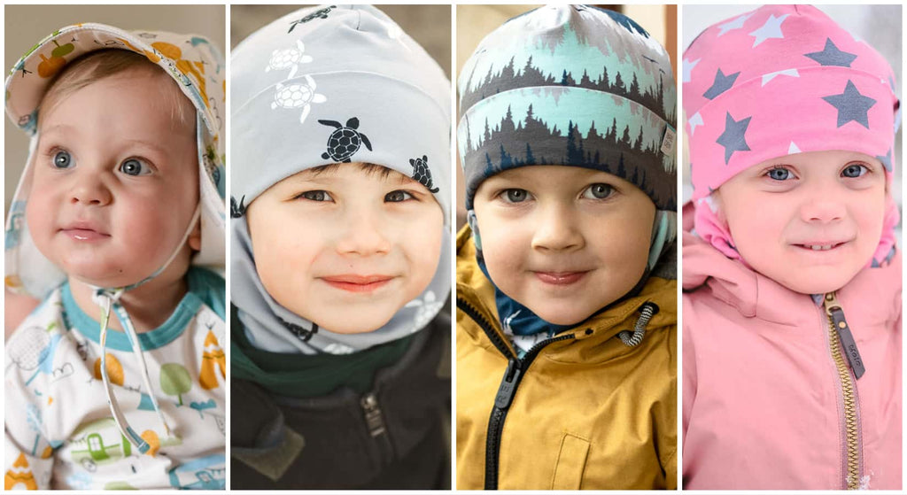 Different hats for different temperatures