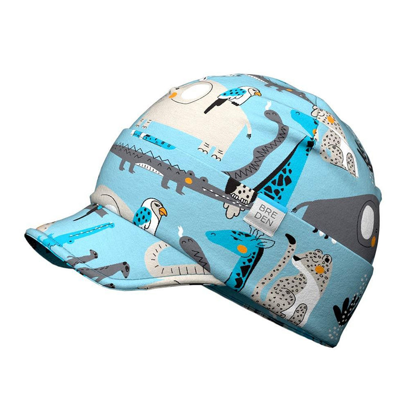 Bo kids spring peaked hat protects from sun and wind